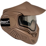 Valken MI-7 Dual Pane Thermal Lens Paintball Full Face Mask (Tan) - Stryker Airsoft