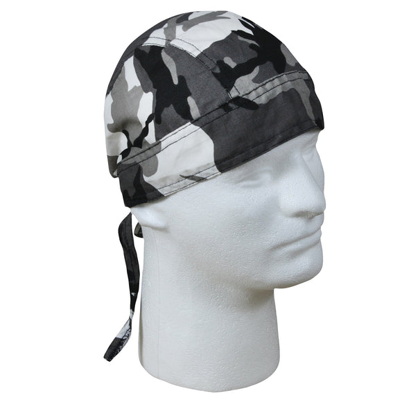 Rothco Camo Headwrap (City) - Stryker Airsoft