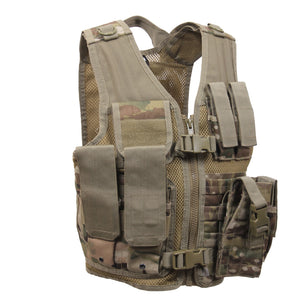 Rothco Kid's Tactical Crossdraw Vest (Multicam) - Stryker Airsoft