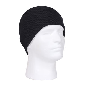 Rothco Deluxe Acrylic Skull Cap (Black) - Stryker Airsoft