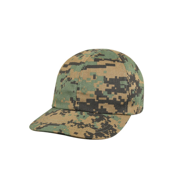Rothco Kid's Adjustable Camo Cap (Woodland Digital) - Stryker Airsoft