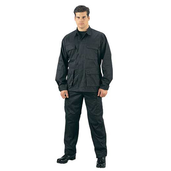 Rothco Rip-Stop BDU Pants - Large (Black) - Stryker Airsoft