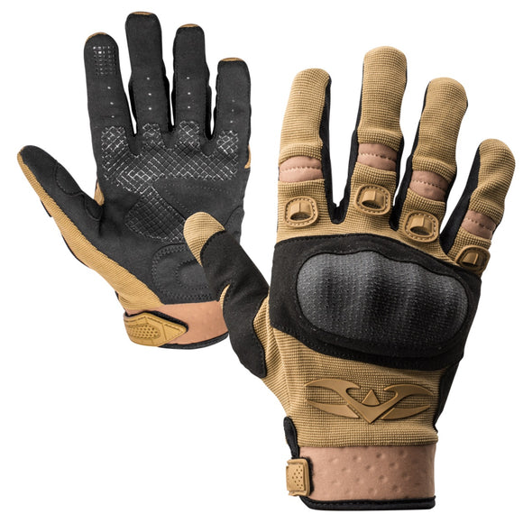 Valken Tactical Zulu Tactical Gloves (Tan) - Stryker Airsoft