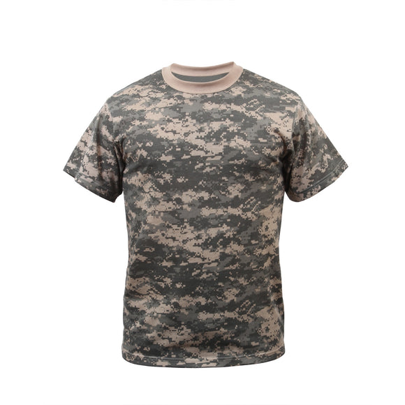 Rothco Kids Digital Camo T-Shirt - Large (ACU) - Stryker Airsoft