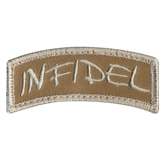 Rothco Infidel Shoulder Morale Patch - Stryker Airsoft