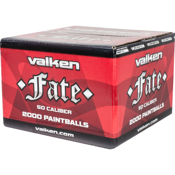 Valken .50 Caliber 2000ct Fate Paintballs - Stryker Airsoft