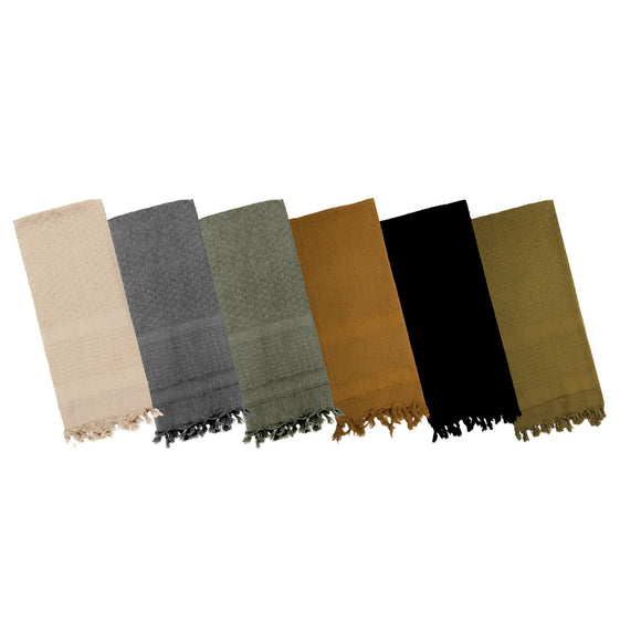 Rothco Solid Color Shemagh Tactical Desert Scarf - Stryker Airsoft
