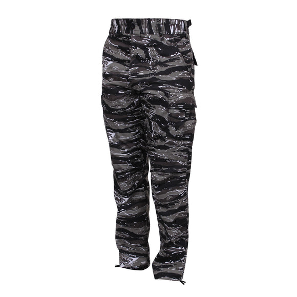 Rothco Color Camo Tactical BDU Pants - Large (Urban Tiger Stripe) - Stryker Airsoft