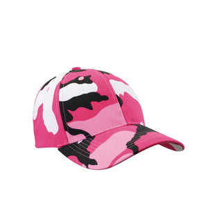 Rothco Supreme Camo Low Profile Cap (Pink) - Stryker Airsoft