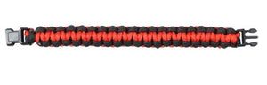 Rothco Thin Red Line Paracord Bracelet - 8""