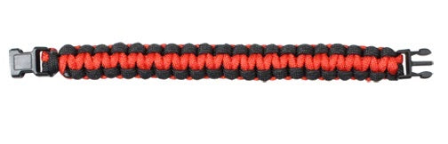 Rothco Thin Red Line Paracord Bracelet - 9