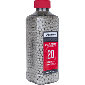 Valken Accelerate 0.20g 2500ct 6mm Airsoft BBs - Stryker Airsoft