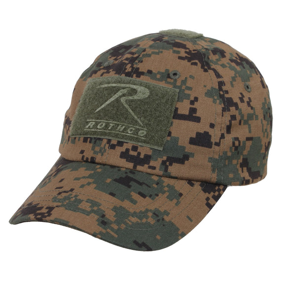 Rothco Tactical Operator Cap (Woodland Digital) - Stryker Airsoft