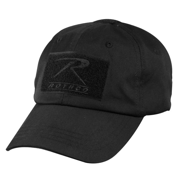 Rothco Tactical Operator Cap (Black) - Stryker Airsoft