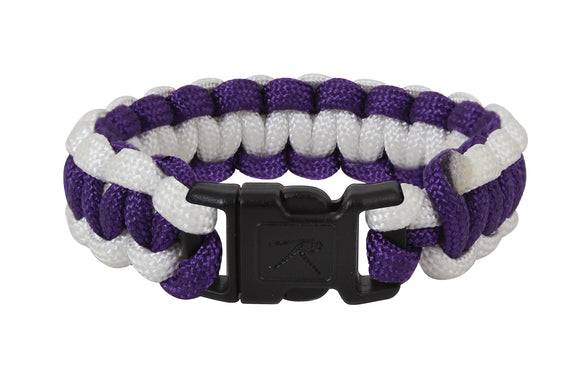 Rothco Two-Tone Paracord Bracelet - 10