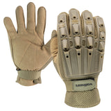 Valken Alpha Full Finger Gloves (Tan) - Stryker Airsoft