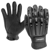 Valken Alpha Full Finger Gloves (Black) - Stryker Airsoft
