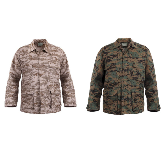 Rothco Digital Camo BDU Shirt - Stryker Airsoft