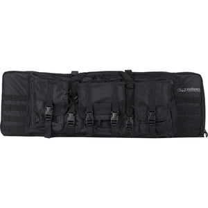 "Valken Tactical 36"" Double Rifle Tactical Gun Case (Black) - Stryker Airsoft"