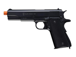 Elite Force 1911 A1 CO2 Blowback Pistol Airsoft Gun (Black) - Stryker Airsoft