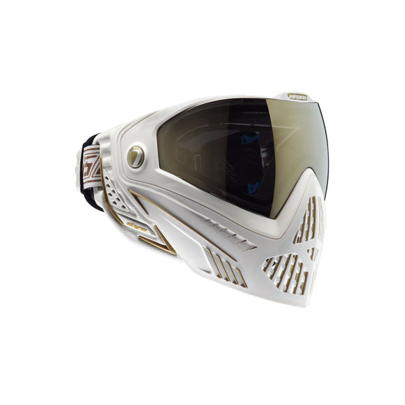 DYE i5 Thermal Full Face Mask (White/Gold) - Stryker Airsoft