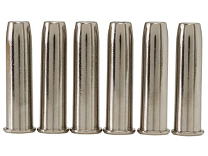 Elite Force Legends Smoke Wagon CO2 Revolver Shells - 6 Pack (Silver) - Stryker Airsoft