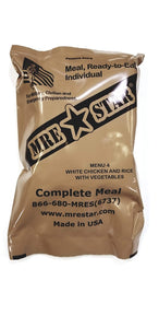MRE STAR White Chicken & Rice with Vegetables MRE w/ Heater - Stryker Airsoft