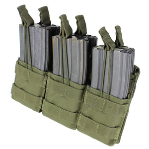 Condor Outdoor Triple Open Top Stacker M4/M16 Magazine Pouch - Stryker Airsoft