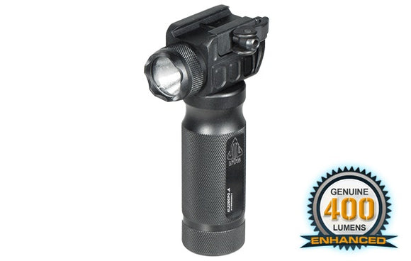 UTG 400 Lumen Grip Flashlight with QD Mounting Base - Stryker Airsoft