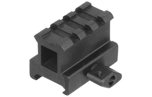 "UTG 1"" High 3-Slot Hi-Profile Compact Riser Mount - Stryker Airsoft"