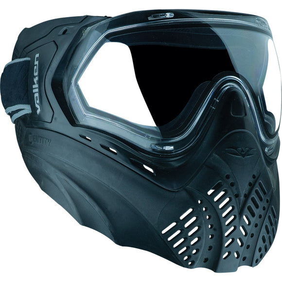 Valken Identity Full Face Mask (Black) - Stryker Airsoft