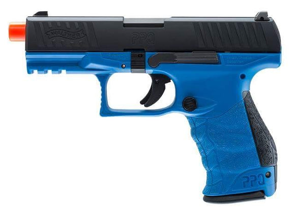 Elite Force Walther PPQ GBB Pistol Airsoft Gun (LE Blue) - Stryker Airsoft