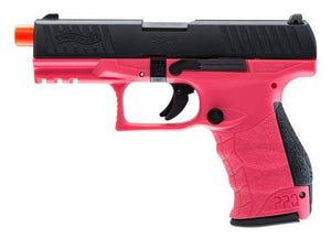 Elite Force Walther PPQ GBB Pistol Airsoft Gun (Wildberry) - Stryker Airsoft