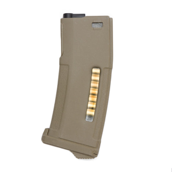 PTS EPM 150rd M4/M16 Mid Capacity AEG Magazine (Flat Dark Earth) - Stryker Airsoft