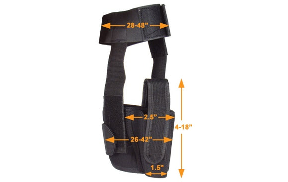 UTG Concealed Ankle Holster - Stryker Airsoft