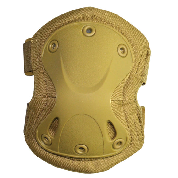 Valken Tactical Elbow Pads (Desert Tan) - Stryker Airsoft