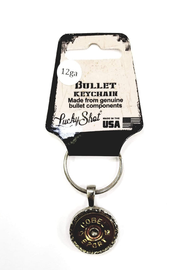 Lucky Shot 12ga. Slice Bullet Keychain - Stryker Airsoft