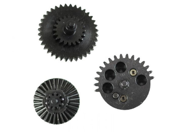 SHS CNC Gen 3 16:1 High Speed Gear Set w/ 10 Teeth Sector Gear - Stryker Airsoft