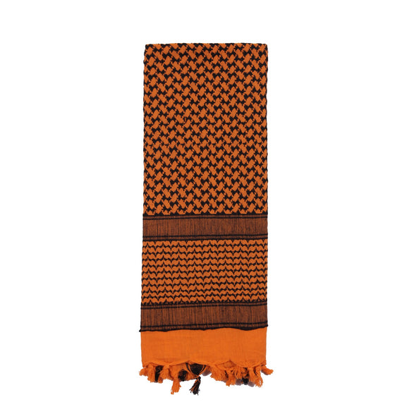 Rothco Shemagh Tactical Desert Scarf (Orange) - Stryker Airsoft