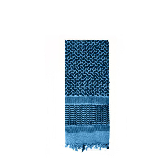 Rothco Shemagh Tactical Desert Scarf (Blue/Black) - Stryker Airsoft
