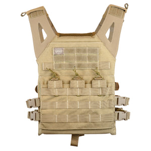 Valken Tactical Plate Carrier II (Tan) - Stryker Airsoft