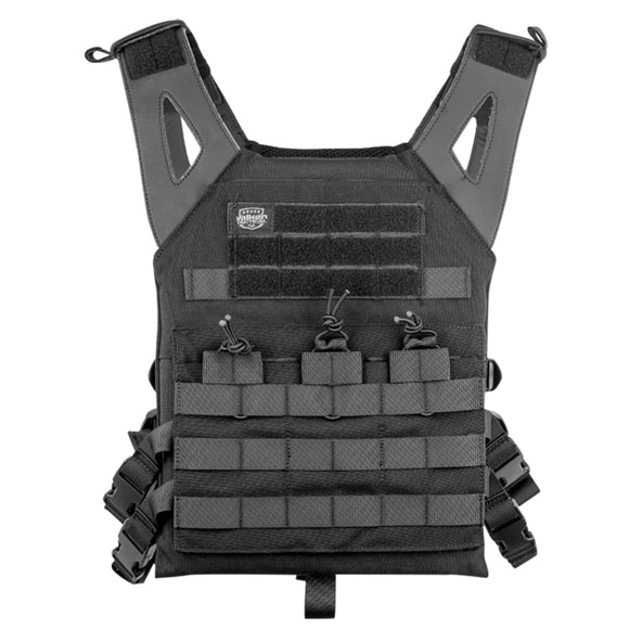 Valken Tactical Plate Carrier II (Black) - Stryker Airsoft