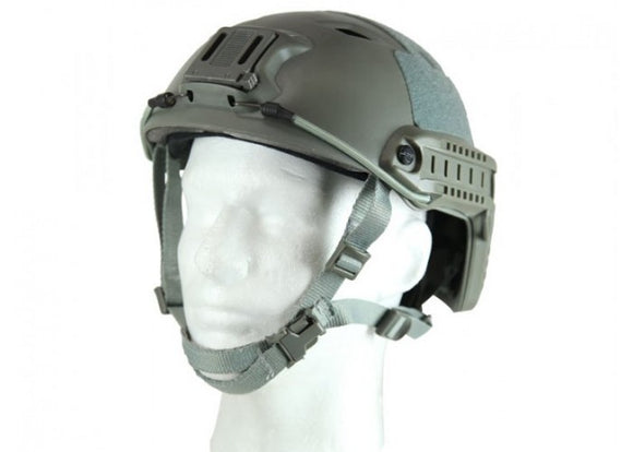 Bravo Airsoft Version 2 BJ Helmet (Gray) - Stryker Airsoft