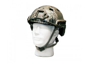 Bravo Airsoft Version 2 PJ Helmet (Kryptek Mandrake) - Stryker Airsoft