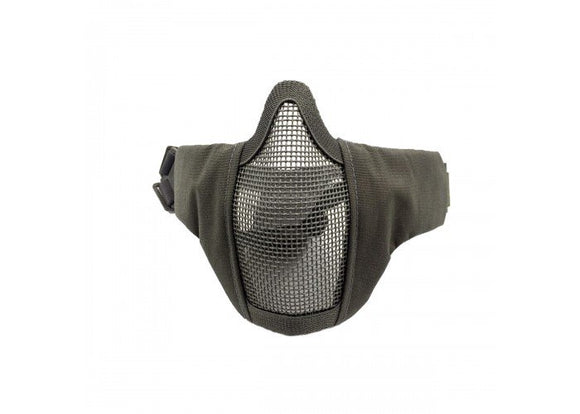 Bravo Airsoft Tactical Gear V3 Strike Metal Mesh Face Mask (Gray)