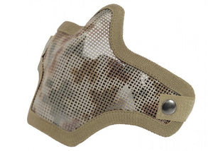 Bravo Airsoft Tactical Gear V1 Strike Steel Half Face Mask (AR01) - Stryker Airsoft