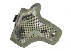 Bravo Airsoft Tactical Gear V1 Strike Steel Half Face Mask (AR02) - Stryker Airsoft