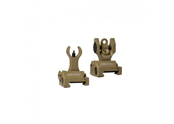 Echo 1 Combat Sight Set (Tan) - Stryker Airsoft