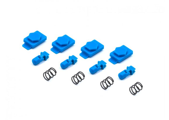 Dytac Hexmag Airsoft HexID Latchplates & Followers (Nimbus Blue) - Stryker Airsoft