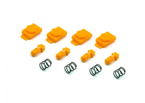 Dytac Hexmag Airsoft HexID Latchplates & Followers (Orange) - Stryker Airsoft